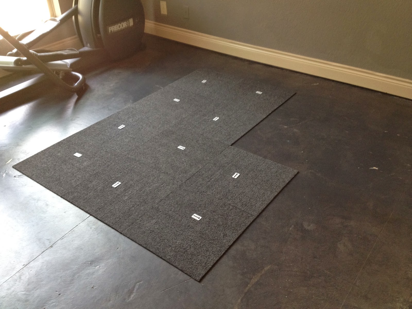 how to install carpet tile hints