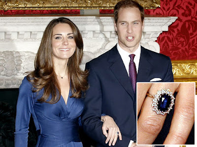 Trendy Kate Middleton's Engagement Ring