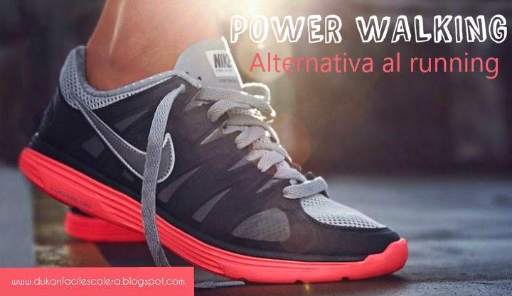 El mayor competidor del running y que aporta los mismos beneficios ,si no puedes correr porque tu salud te lo impide o no tienes fondo físico, el power walking te va ha gustar.
