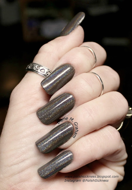 Fingerpaints Who Are You, Essie Good as Gold, Uber Chic 3-02