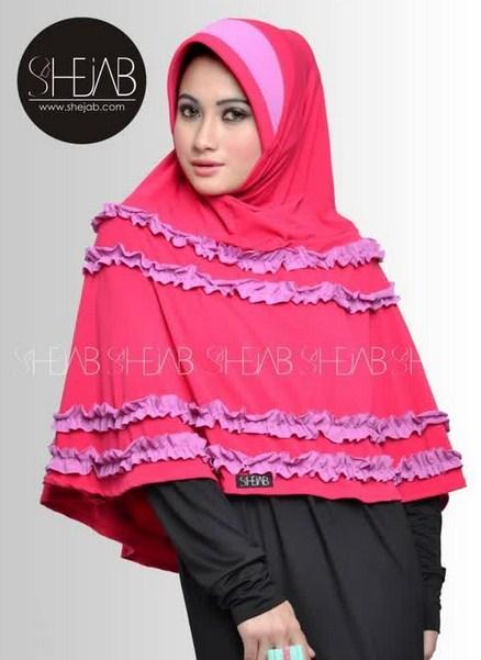Trend Gambar Model Hijab Lebaran Terbaru 2016