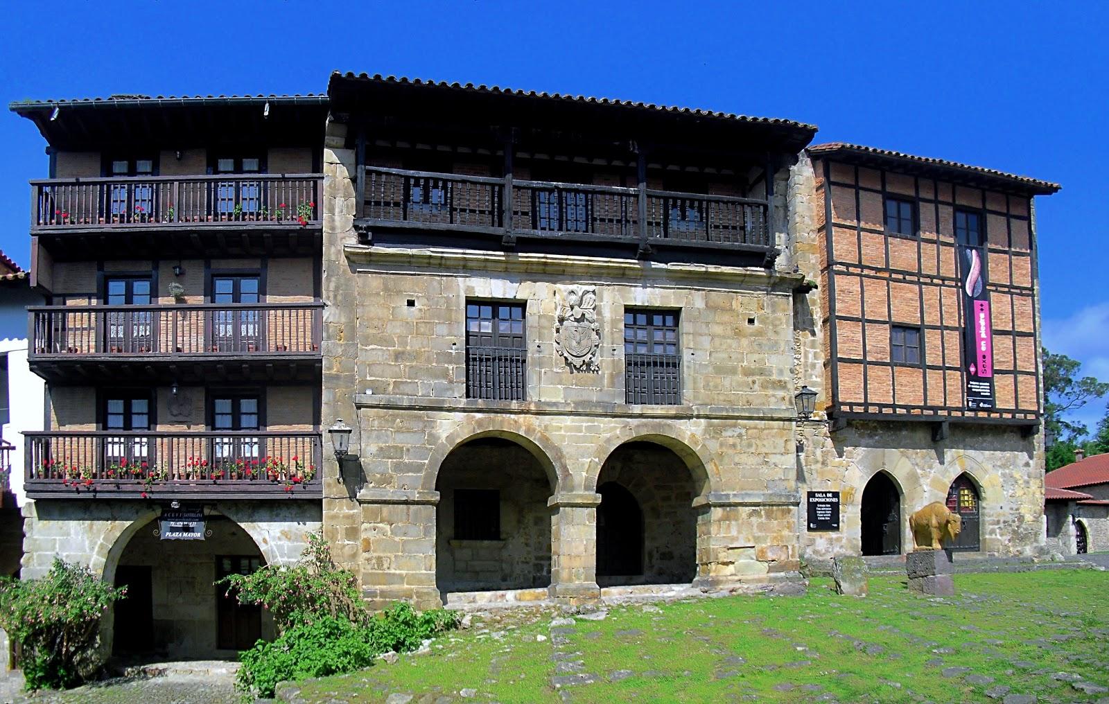 La ciudad habla casas del aguila y la parra santillana - La casa de las angulas ...