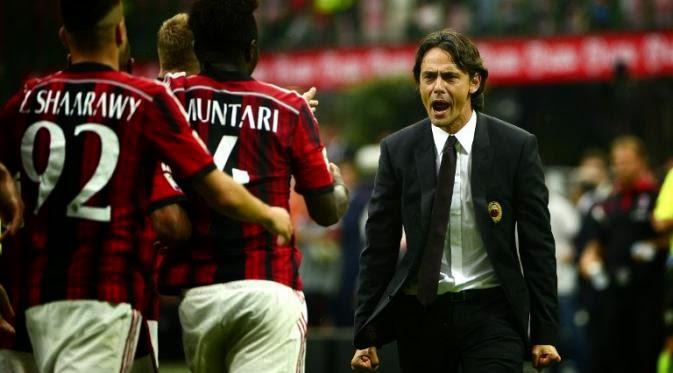 Para Pemain AC Milan Melawan Udinese