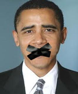 Barack Obama kena tutup mulut