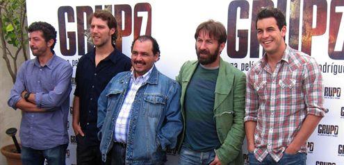 Grupo 7, con Mario Casas, Antonio De la Torre e Inma Cuesta