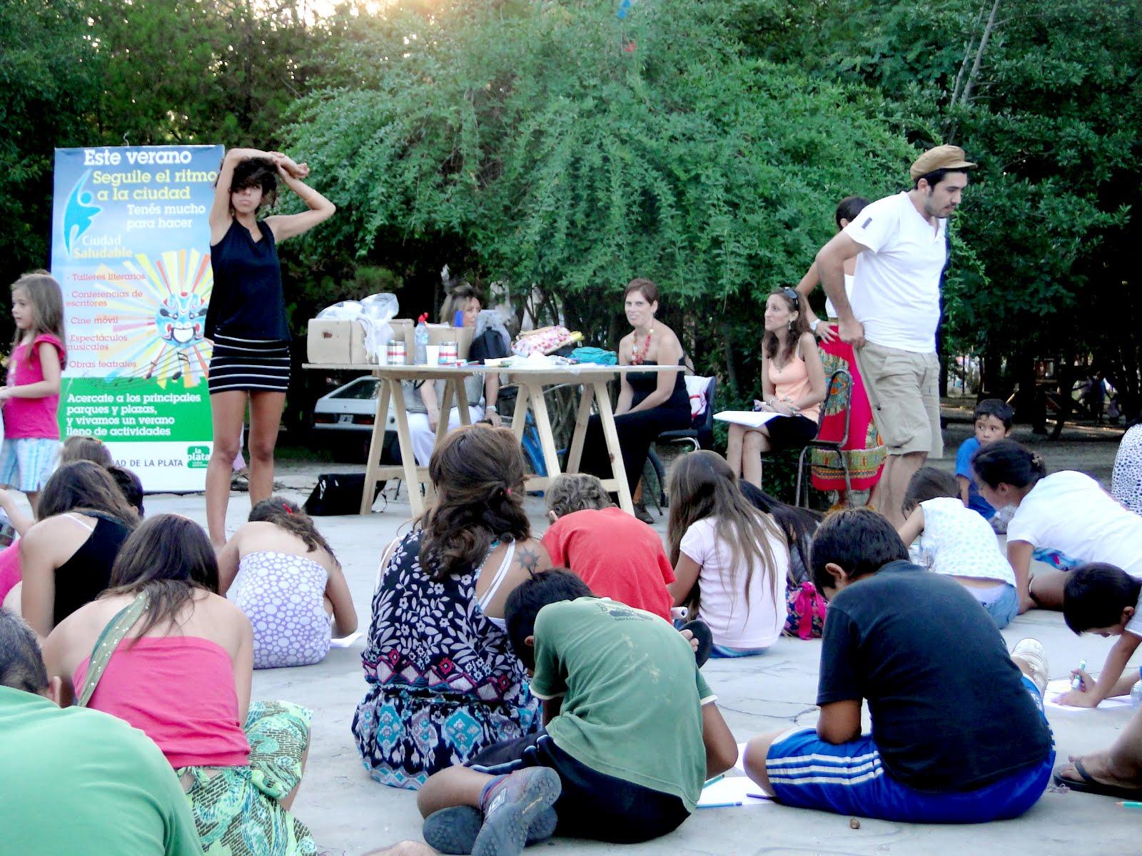 la plata cultura talleres multidisciplinarios febrero On jardin botanico talleres