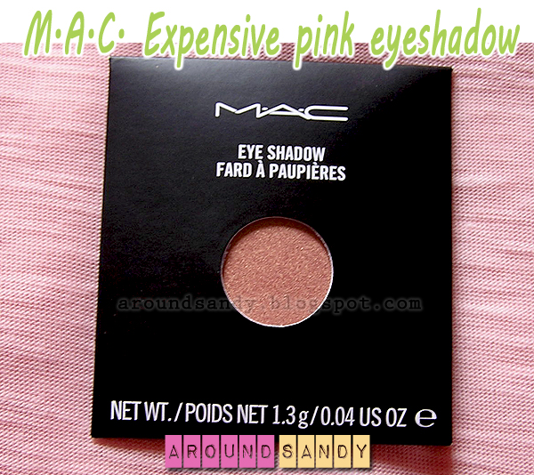 MAC expensive pink eyeshadow sombra review swatches dónde comprar opinión