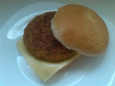 hamburguesa de soja