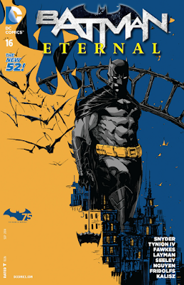 Batman Eternal #16 Cover Artwork by Dustin Nguyen