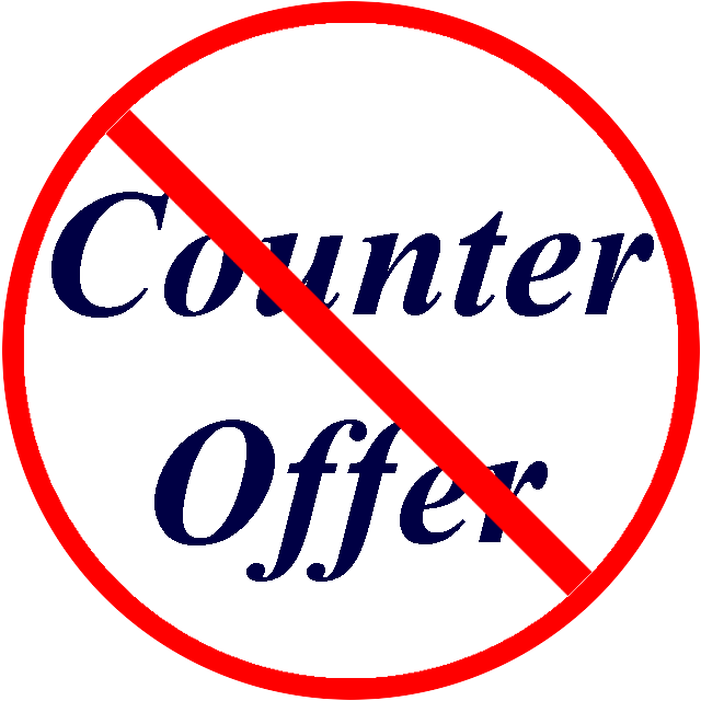 The Counteroffer Why and How to Avoid This Losing Proposition – Counter Offer Letter