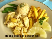 Kari kura s ananásom - recept