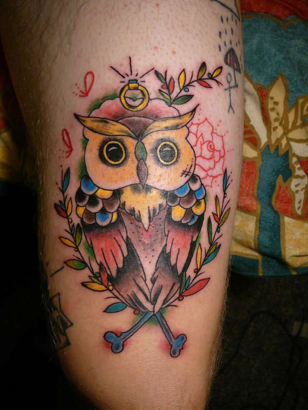 owl tattoo designs ideas photos images pictures. Black Bedroom Furniture Sets. Home Design Ideas
