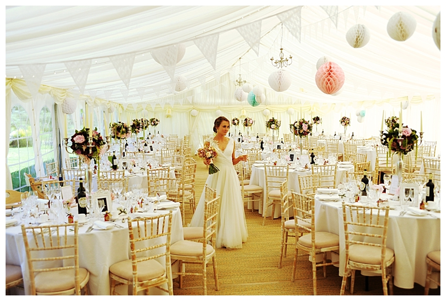 Wedding marquee decoration ideas a marquee for all seasons english wedding blog real glamorous detail filled wedding jude james part