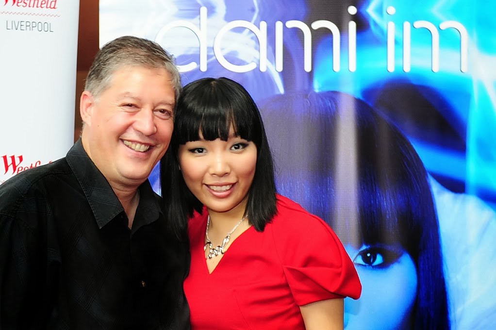 Dami Im and I