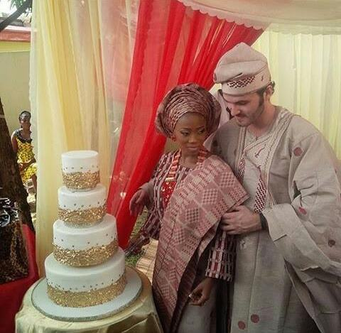Tosyn Bucknor traditional wedding pictures