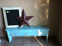 Weathered Bench/Magnet Board SOLD