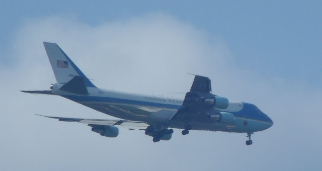 VC-25 Air Force One photo