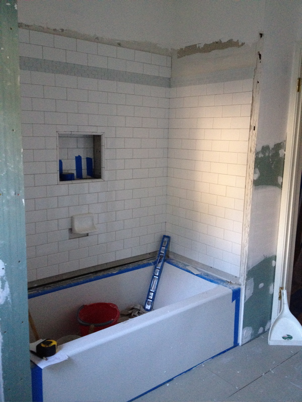 Faire notions before and after master bathroom remodel for Bathroom remodel in 3 days