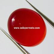 Batu Permata Red Carnelian - 03K08