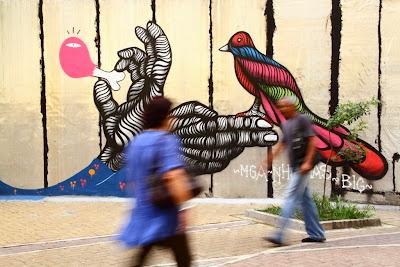 Grafite nosso de cada dia, by Guillermo Aldaya / PhotoConversa