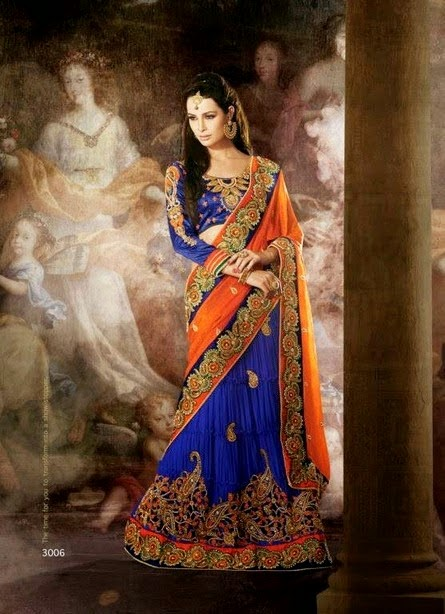Traditional Luxury Designer Sarees 2014