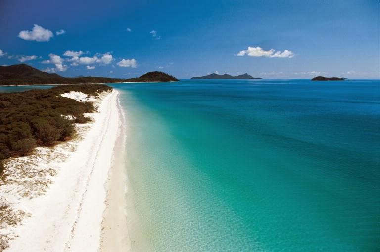 Whitehaven Beach Australia Tourist Destinations