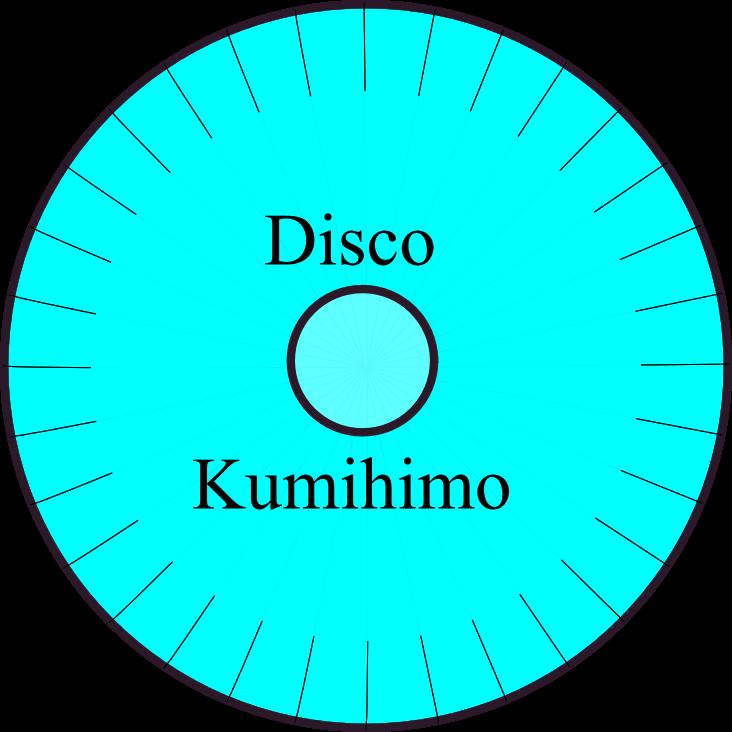 Disco de Kumihimo redondo