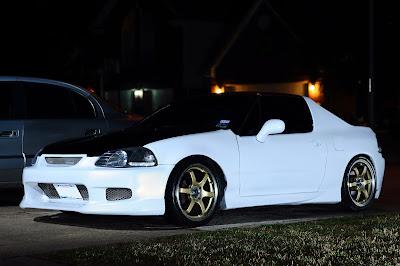 Honda Del Sol White