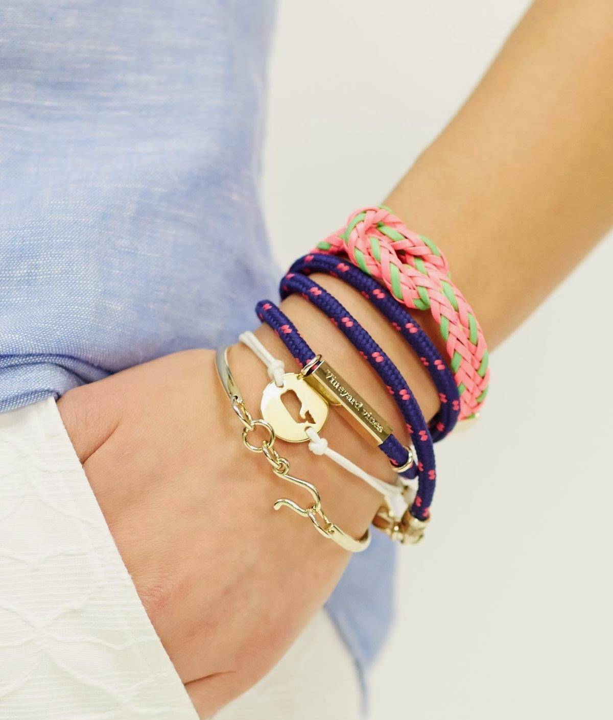 Vineyard Vines: Triple Rope Bracelet