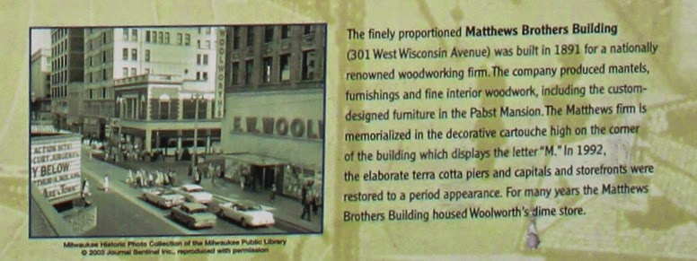 Wisconsin Historical Markers Historic Milwaukee West Wisconsin Avenue