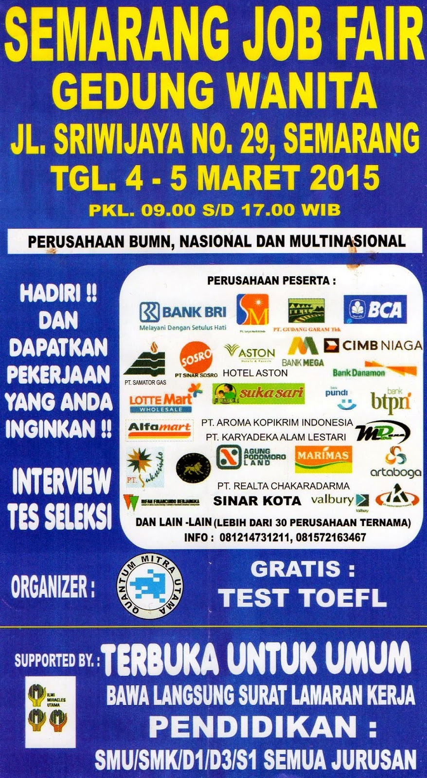 Bursa Kerja Job Fair Career Expo