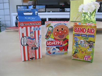 Band Aids in Japan