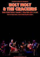 Holy Moly & The Crackers + Hyde Family Jam + Pewter City Punk