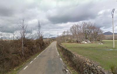 Estado actual de la Carretera de Fuentebuena