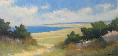 Impressionist oil landscape by artist Steve Allrich.