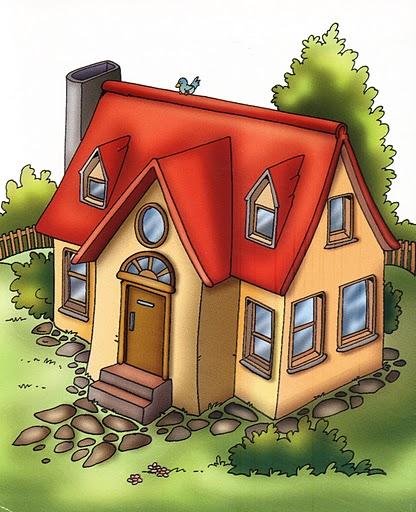 Imagenes habitaciones casa para imprimir - Dibujos de casas para imprimir ...