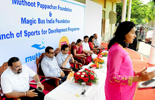 Muthoot Pappachan Foundation has launched a unique collaborative venture for upliftment of the underprivileged Children in partnership with Magic Bus India Foundation