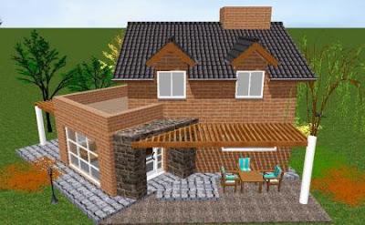 Arquitecto obras remodelacion locales caba as casas - Tejas para casas de madera ...