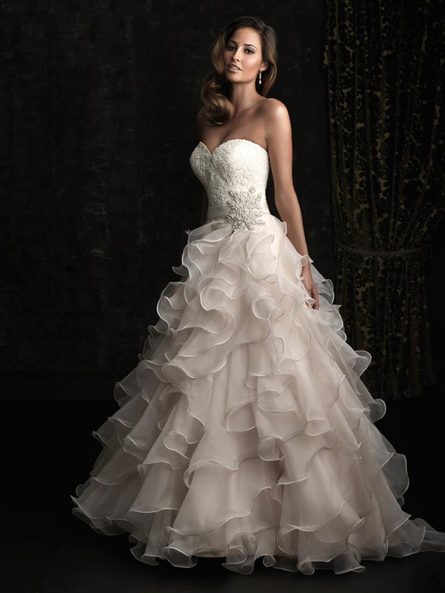 Pink Wedding Dress Dream Meaning : Stunning frocks femme fantasy by allure bridals