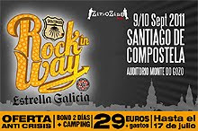 Offspring, Toy Dolls o Sober al festival Rock In Way Estrella de Galicia de Santiago