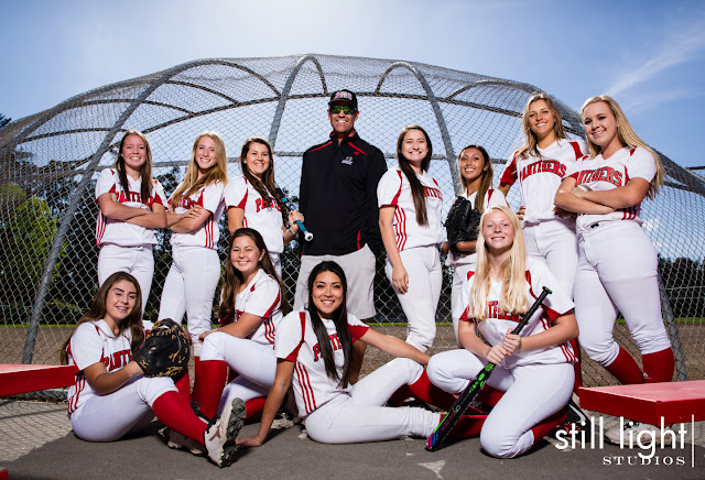 still light studios high school girls softball sports photography burlingame san mateo san francisco bay area