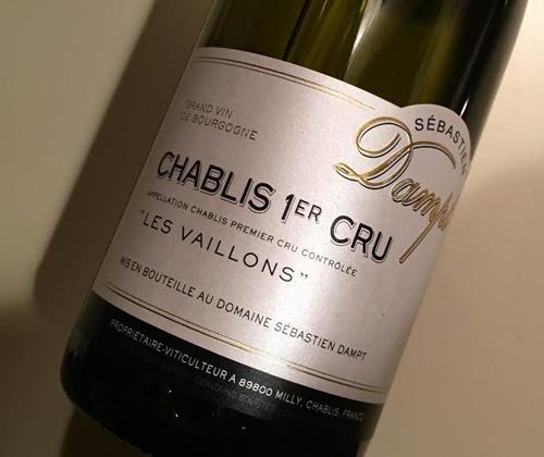 """Dampt Chablis 1er Cru """"Les Vaillons"""" 2014"""