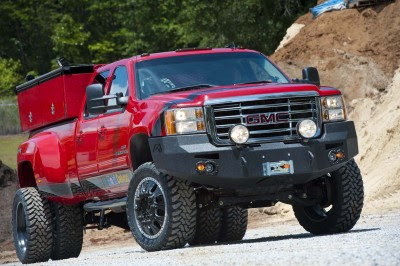 Win this chevy 3500 utility work truck pickup