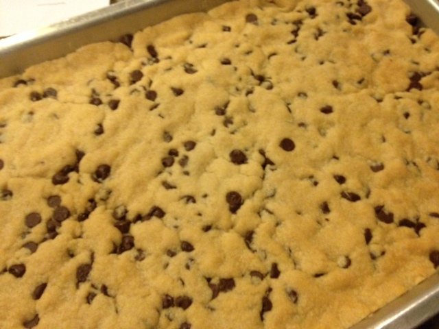 You Go Girl!: Chocolate Chip Cookie Brittle