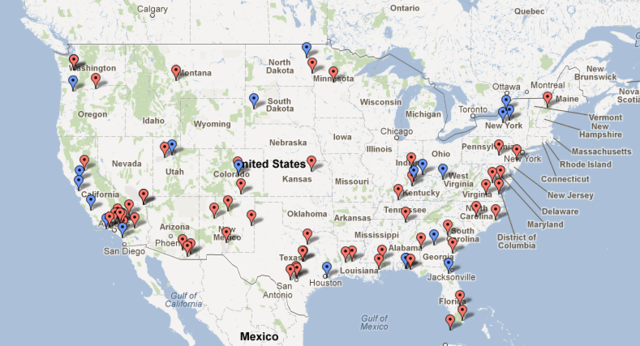 Voter Suppression Goes Hand In Hand With Drone Bases On American - Us army posts in usa map