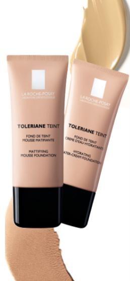 Testează noile fonduri de ten Toleriane Teint - La Roche-Posay