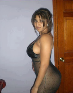 Sexy Indian girl in modern dress.