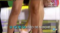 Mercedes Duran piernas