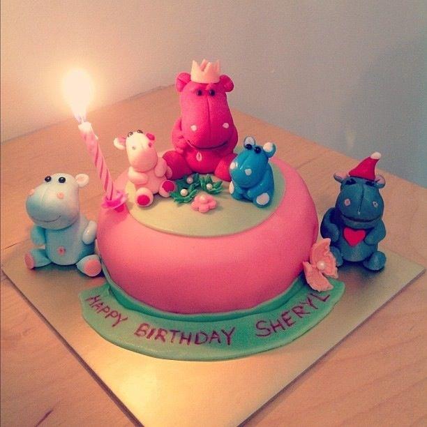 Hippo Cake Sherbakes