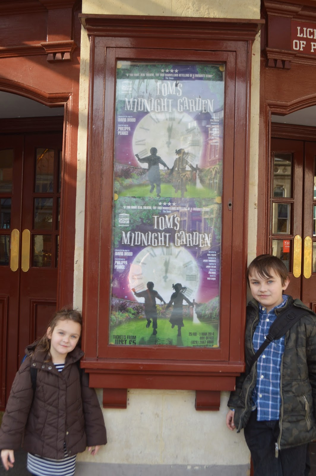 Cardiff Half Term St Davids Centre Wales New Theatre Tom's Midnight Garden